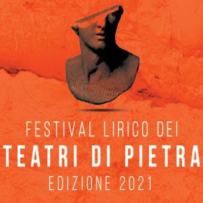 Festival dei teatri di pietra 2021 - locandina