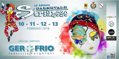 35^ edizione del Carnevale Strianese, dal 10 al 13 febbraio 2018.