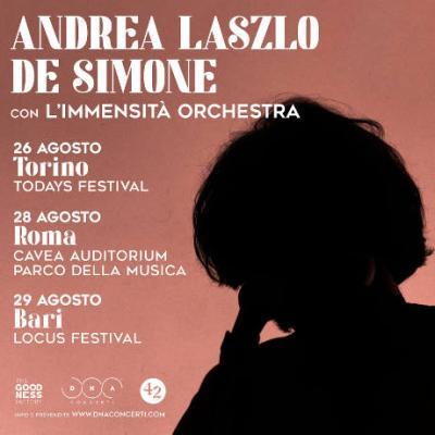 Andrea Laszlo De Simone, ultimo tour 2021