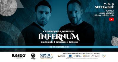 Infernum live streaming from Grotte di Castellana - locandina