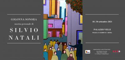 locandina della mostra Colonna Sonora di Silvio Natali