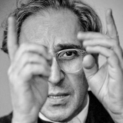 il cantautore Franco Battiato