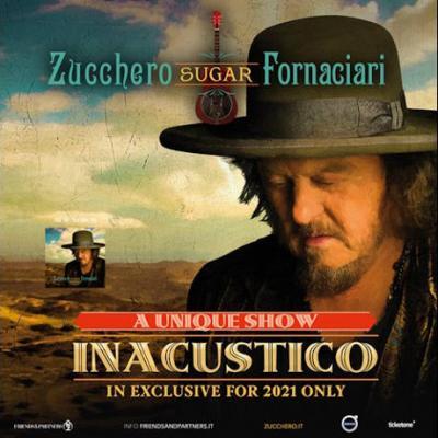 Zucchero Fornaciari, Inacustico 2021 tour