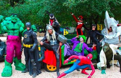 foto supereroi fantastico