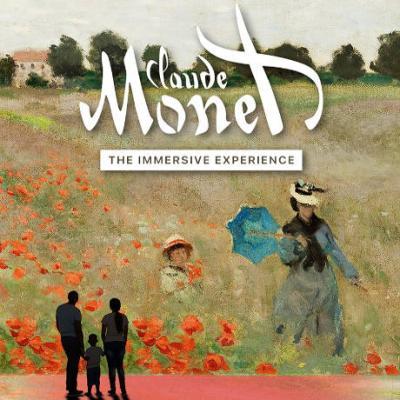 Claude Monet - Immersive Experience - locandina