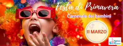 Festa di Primavera Carnevale dei Bambini - San Carlo (FE) - 11 marzo