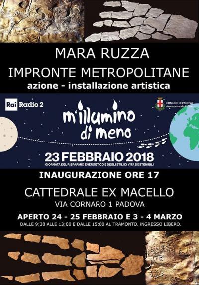 Impronte Metropolitane - Padova - 24, 25 febbraio 3, 4 marzo