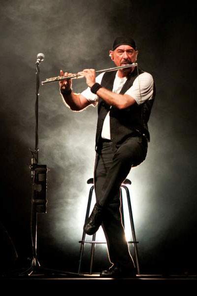 Ian Anderson durante un concerto