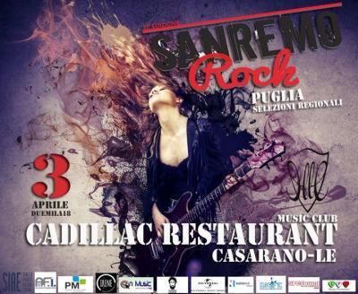 Sanremo Rock, Live tour selezioni - Casarano (LE) - 3 aprile