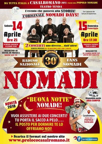 Nomadi - Casalromano (MN) - 14 e 15 aprile