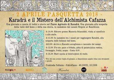 Karadrà e il mistero dell'Alchimista Cavazza - Cutrofiano (LE) - 2 Aprile