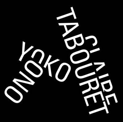 Yoko Ono e Clair Tabouret