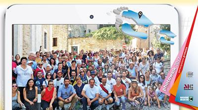 Stagione PhotoWalk 2017, le passeggiate social nelle Marche. © #destinazionemarche blog - Blog Ufficiale della Regione Marche.