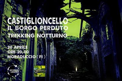 Trek notturno a Castiglioncello - Firenzuola (FI) - 28 aprile