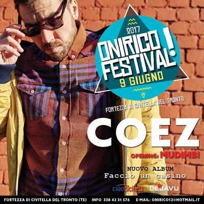 COEZ opening Mudimbi - Onirico Festival 2017