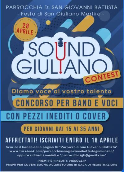 Sound Giuliano: Concorso Musicale - Giulianello