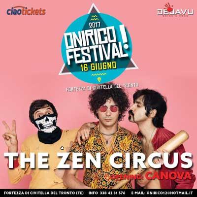 THE ZEN CIRCUS opening Canova - Onirico Festival 2017