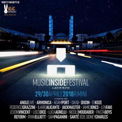 Mif Music inside festival 2018 - Rimini - 29 e 30 aprile