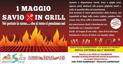Savio in Grill - Savio di Cervia (RA) - 1 Maggio