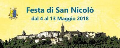 Festa di San Nicolò - Collescipoli (TR) - dal 4 al 13 maggio