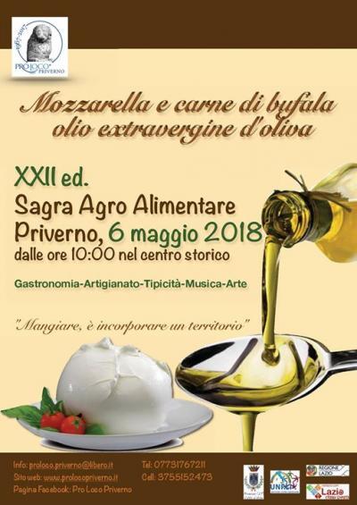 Sagra Agro-Alimentare - Priverno (LT) - 6 maggio