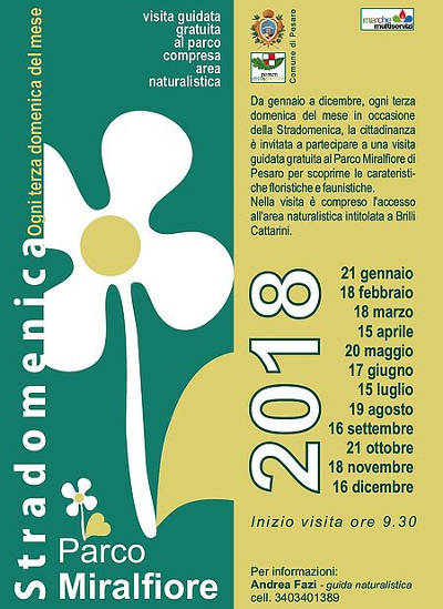 visita guidata gratuita al Parco Miralfiore - Pesaro