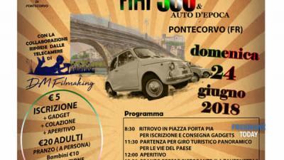 7°raduno Fiat 500 e auto d'epoca - Pontecorvo (FR)