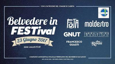 Belvedere in Festival - giugno 2017