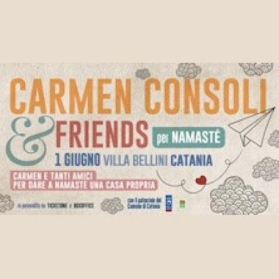 Carmen Consoli & Friends per Namastè - Catania - 1 giugno