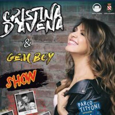 Cristina D' Avena e Gem Boy - Desio (MB) - 2 giugno