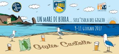 un mare di birra 2017 - isola del Giglio