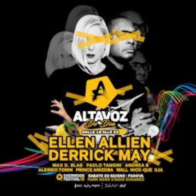 Altavoz De Dia: Ellen Allien and Derrick May