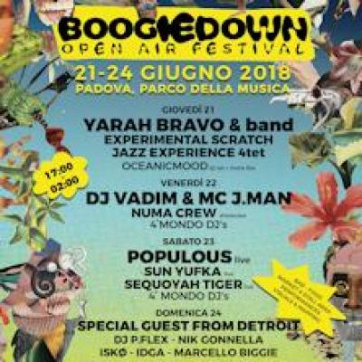 Boogie Down Festival - Padova - dal 21 al 24 giugno