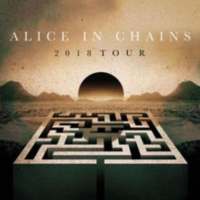 Alice in Chains tour 2018, locandina
