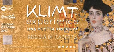 Klimt Experience alla Reggia di Caserta.