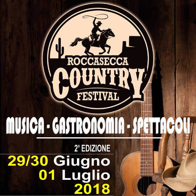 Country Festival - Roccasecca (FR) - dal 29 giugno al 1 luglio