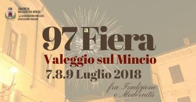 97° Fiera di Valeggio sul Mincio (VR) - dal 7 al 9 luglio