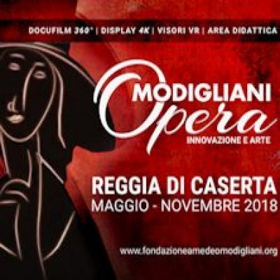Modigliani Opera - Caserta - fino al 31 ottobre