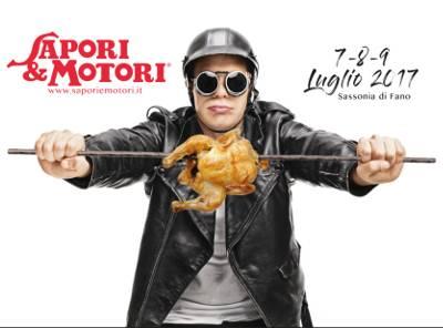 locandina Sapori e Motori - Fano 2017
