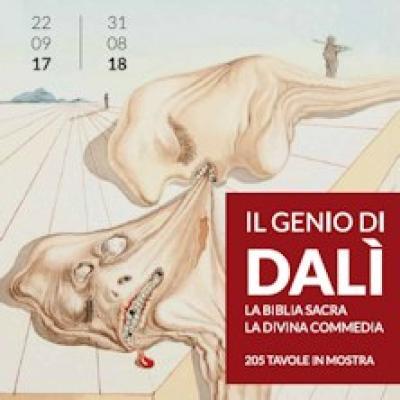 Il genio di Dali, Locandina mostra