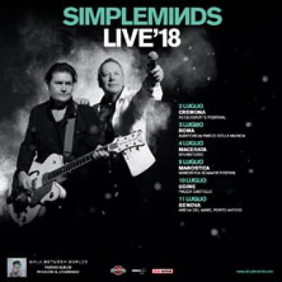Simple Minds - Macerata - 4 luglio