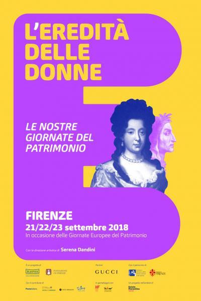 L'eredità delle donne - Le nostre giornate del patrimonio - Firenze