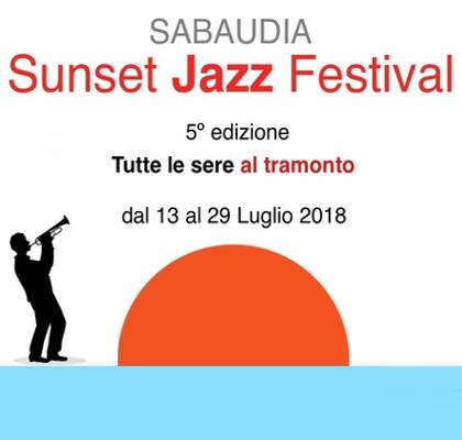Sunset Jazz Festival - Sabaudia (LT) - dal 13 al 29 luglio