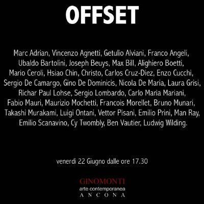 Offset: un viaggio tra l'arte degli anni Settanta - Ancona - fino al 31 luglio