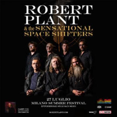 Robert Plant - Milano - 27 luglio
