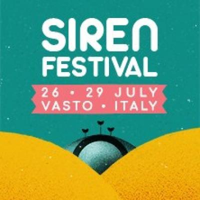 Siren Festival 2018 - Vasto - dal 26 al 29 luglio