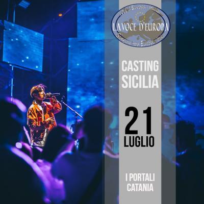 Selezioni Casting La Voce d'Europa - Catania - 21 luglio