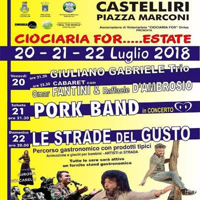 Ciociaria Estate - Castelliri (FR) - dal 20 al 22 luglio