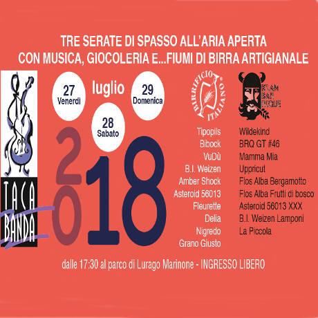 Tacabanda 2018 - Lurago Marinone (CO) - dal 27 al 29 luglio