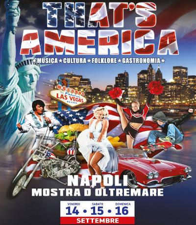 That's America: il Festival Americano - Napoli - dal 14 al 16 settembre